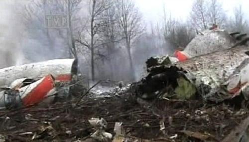 Poljska pad aviona